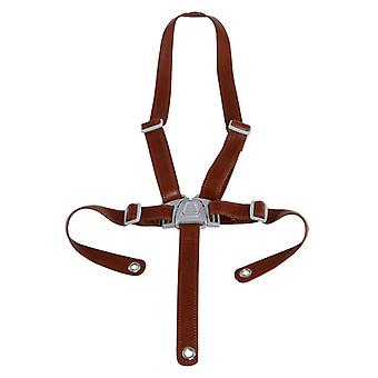 Micuna ovo - brown leatherette security straps