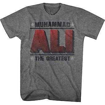 American Classics Muhammad Ali The Greatest T-Shirt - Graphite Heather