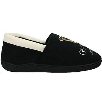 Guinness Mens Islip Embroidered Fleece Lined Slippers