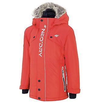 4F JKUM001A HJZ19JKUM001ACZERWONY universal winter women jackets