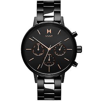 MVMT D-FC01-BL Watch - Women's Black Steel Multifunction Watch