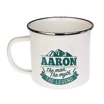 Histoire et Héraldique Aaron Tin Mug 23