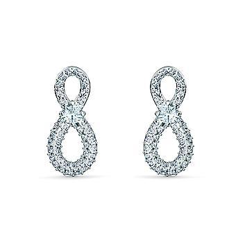Swarovski øreringe 55188880-kvinders snurrende krystal øreringe