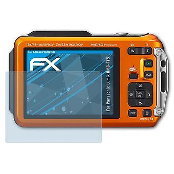 atFoliX Glass Protector compatible with Panasonic Lumix DMC-FT5 9H Hybrid-Glass