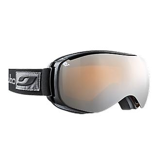 Julbo Masque de ski Ventilate Noir Spectron 3  Orange Flash Argent