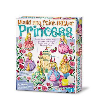 4M Glitter Princess Mould and Paint - Multicolore