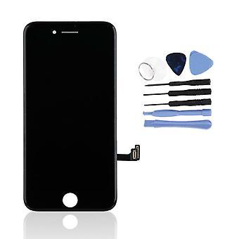 Stuff Certified® iPhone 8 Écran (Écran tactile , LCD et Pièces) A - Qualité - Noir et Outils