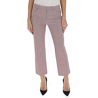 Theory J1005203n05 Women's Red Polyester Pants