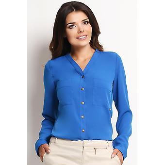 Blå awama skjortor