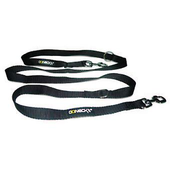 Num'axes Education Coneckt 7-In-1 Multi-Function Nylon Leash -Black