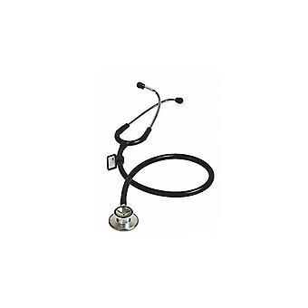Dual Head Stethoscope Black