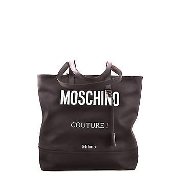 Moschino Ezbc015101 Women's Black Fabric Tote