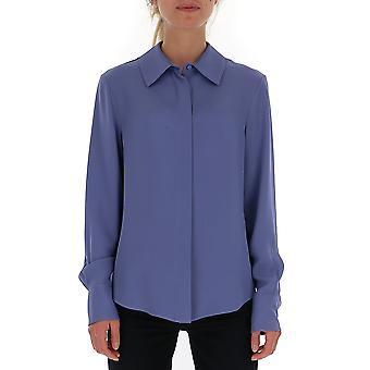 Tom Ford Ca3134fax040hb460 Frauen's lila Seide Shirt