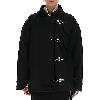 Off-white Owea189f19e640501000 Women's Black Nylon Outerwear Jacket