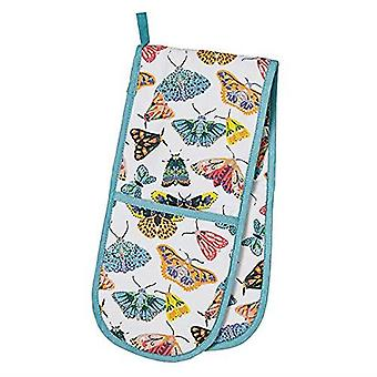 Kitchen Accessories Butterfly Apron, Double Oven Glove, Mitt , Tea Towel & Reusable Shopping Bag