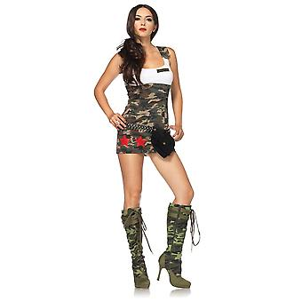 Sexy Combat Costume for women