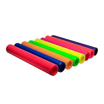Amber Athletics Plastic Relay Batons voor Junior Sprint Running Race Set van 8