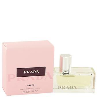 Prada ambre eau de parfum spray par prada 531694 30 ml