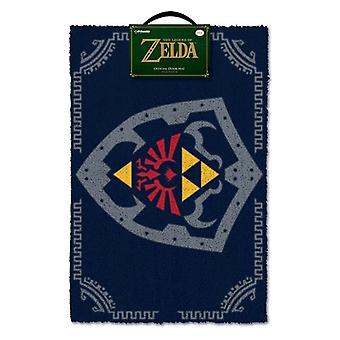 Zelda Hylian Skjold Dørmåtte