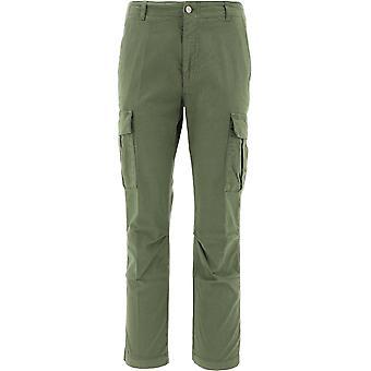 P.a.r.o.s.h. D230384007 Women's Green Cotton Pants
