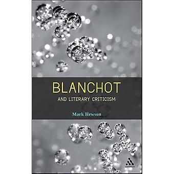 Blanchot en literaire kritiek door Mark Hewson - 9781441115232 Boek