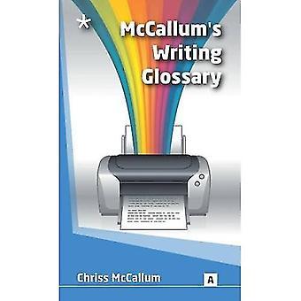 McCallum's Writing Glossary: Writing Terms Explained