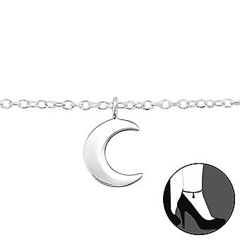Moon - 925 Sterling Silver Anklets - W31580x