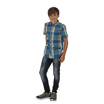 Regatta Great Outdoors Childrens Boys Crayford Short Sleeve Casual Shirt