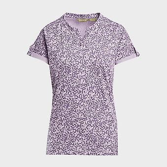 New Brasher Women's AOP Print T-Shirt Purple