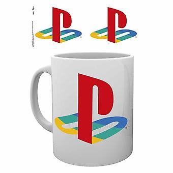 Playstation Colour Logo Mugg
