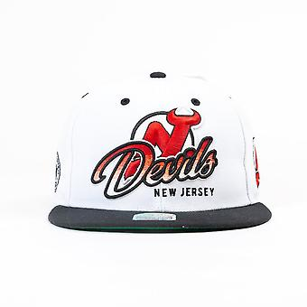 '47 Nhl New Jersey Devils White Big Logo Cap