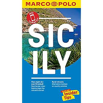 Sicily Marco Polo Pocket Travel Guide - with pull out map by Marco Po