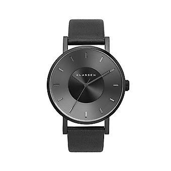Klasse14 VO14BK002W Volare Dark 36mm Leather Black Dial Ladies Watch