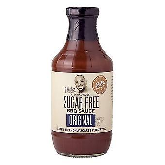 G Hughes Smokehouse Sugar Free Salsa originale barbecue