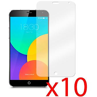 10x Screen Protector Cover Guard for Meizu MX4