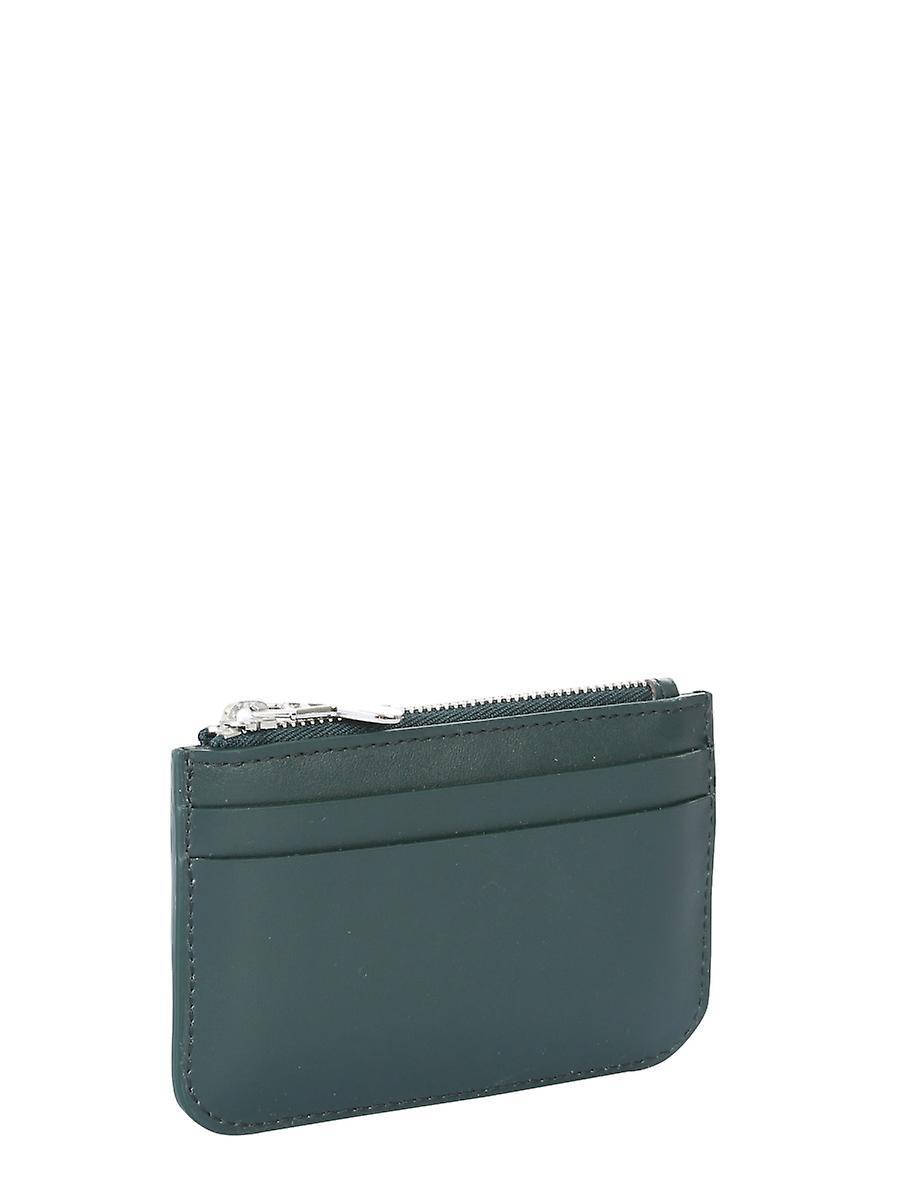 Handtaschen & Brieftaschen Ami A20a010803300 Männer's grüne Leder Brieftasche