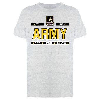 Army: Duty, Honor, Country Men's T-shirt