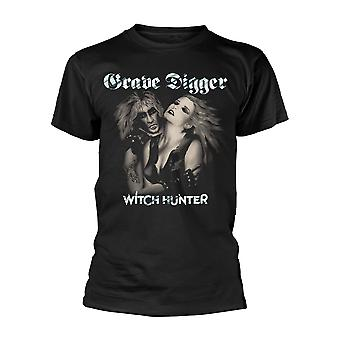 Grave Digger Witch Hunter Oficial Camiseta Hombres Unisex