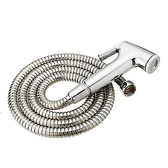 Handhold toilet bidet shower head sprayer and 1.5m stainless steel hose