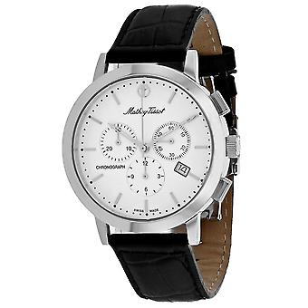 Mathey Tissot Hombres's Classic White Dial Watch - H9315CHALI