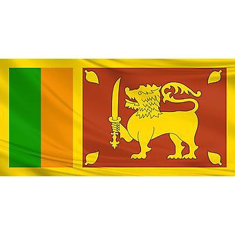 Sri Lanka Flag 3ft x 5ft  Polyester Fabric Cricket Sport Country