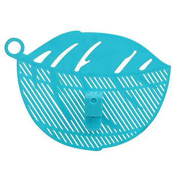 Leaf Shape Water Draining Board - Baffle Sieve Rice Washing Filter