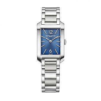 Baume & Mercier BM0A10476 Classima Rectangular Blue Dial Wristwatch