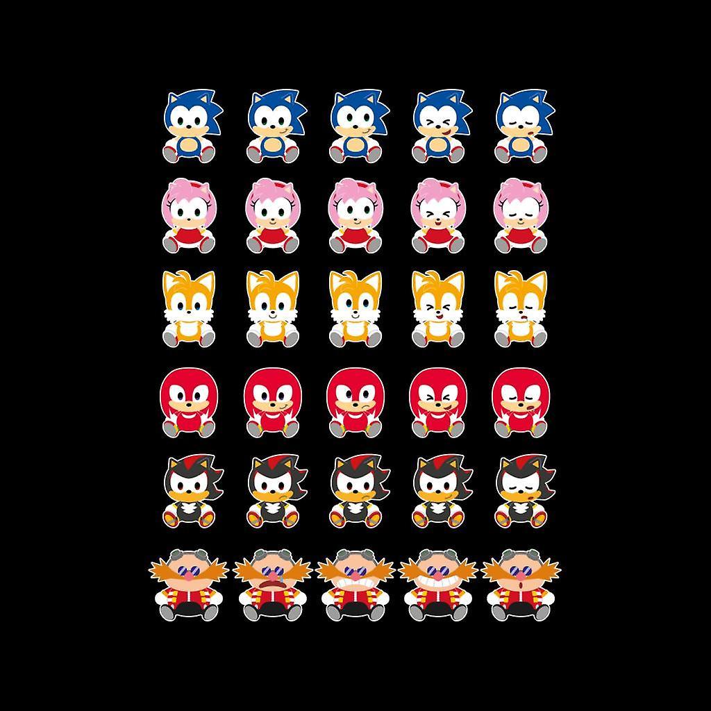 Sonic The Hedgehog Cute Characters Men's Varsity Jacket