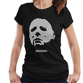 Halloween Michael Myers Mask Women's T-Shirt