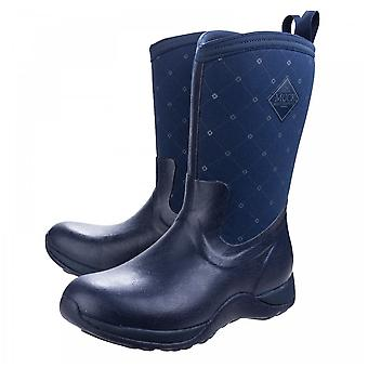 Muck Boots Navy Arctic Weekend Pull On Wellington Boot