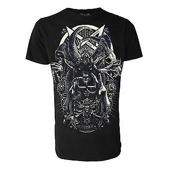Darkside - cult of dark arts - mens t-shirt - black
