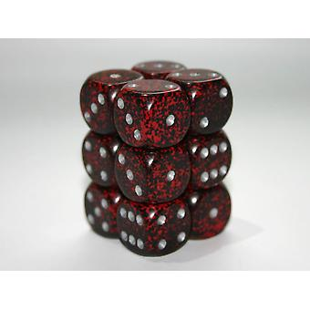 Chessex Speckled Silver Volcano 16mm D6 x 12