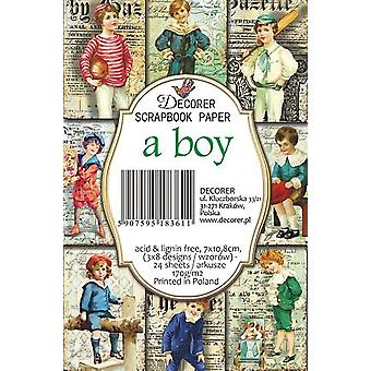 Décorer A Boy Paper Pack