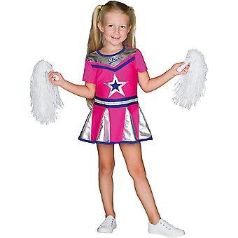 Cheerleader Kids Dancer puku urheilija karnevaali